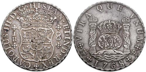 Potosì 8 reales 1768 131206