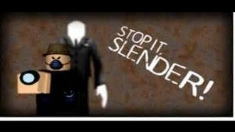 Roblox Stop it Slender 2 1 I Play As Slender! (Roleplay)