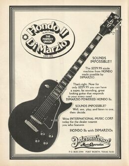 78 hondo II ad June 1978 Guitar Player-0