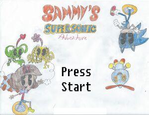 Sammy's Super Sonic Adventure Cover Art