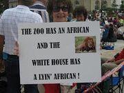 Tea party racist