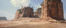 Rust's base.