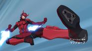 Samurai Flamenco Space Kamen Rider 2