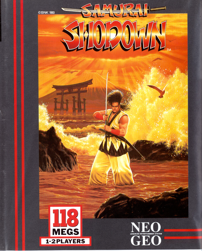 Collectibles 1994 Neo Geo Mvs Samurai Shodown Ii Artworks