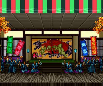 Edo, Samurai Shodown II version.