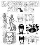 Samsho64 artwork intro characterselect