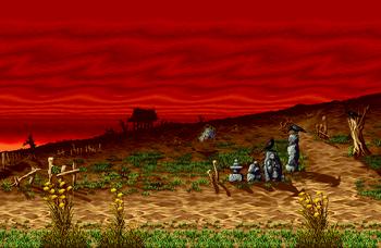 Yamagata stage, Neo Geo version.