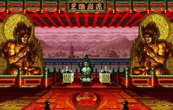 Seian stage, Neo Geo version.