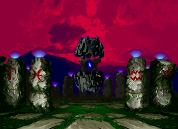 Ritual Monument, Neo Geo version.