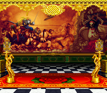 Versailles stage, Samurai Shodown II version.