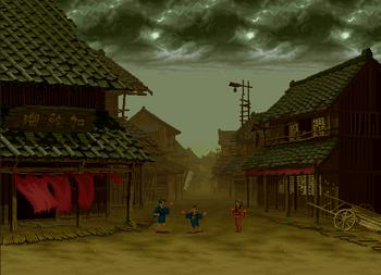 Village Street, Samurai Shodown III version.