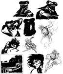 Samsho64 artwork kuroko kazuki
