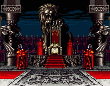 Prosia Kingdom, as seen in Neo Geo.