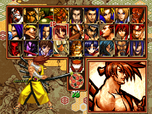 Samsho5sp select