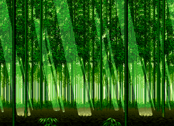Bamboo Forest, Samurai Shodown III version.