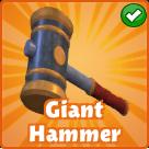 Giant-hammer