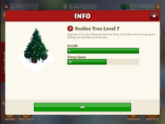 Festive tree level 7