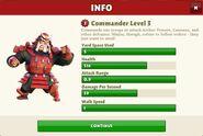 Commander Level 3