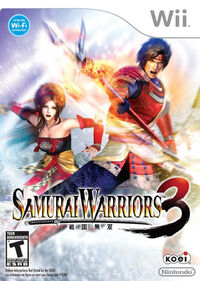 Samurai Warriors 3 (U.S) box art