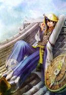 Hanbei Takenaka SW3 Artwork