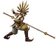 Hideyoshi Toyotomi SW3 render
