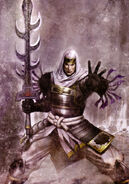 Kenshin Uesugi SW3 artwork