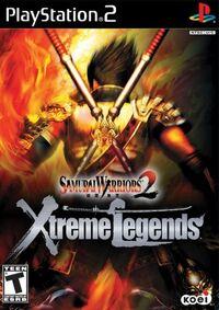 Samurai Warriors 2 Xtreme Legends cover