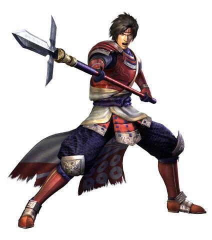 File:Yukimura Sanada SW3 Render.jpg