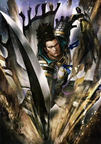 Kagekatsu Uesugi SW4 Artwork