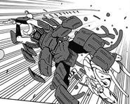 Hagamichi in his Samurai Armor