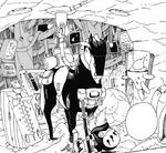 Daruma finding a Horse Holder