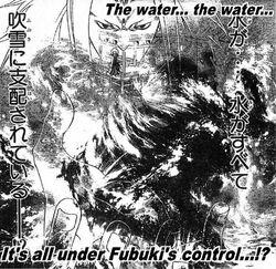 Fubuki's control of water
