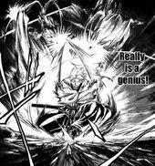 Akira is a genius combat