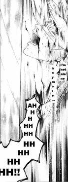 Hotaru speaks with the sword