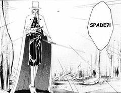 Spade with Hokuto Shichisei