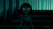 Ashi in green light
