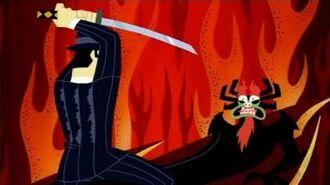 Samurai Jack vs Aku (Jack and the Gangsters)