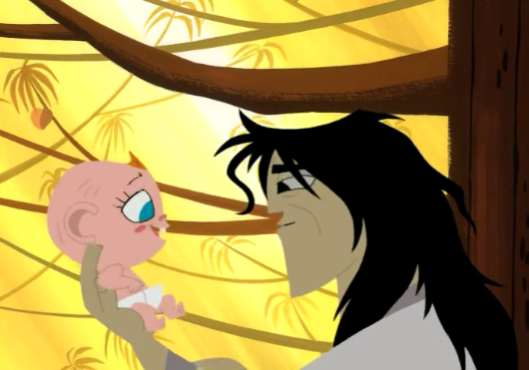 episode lii jack and the baby samurai jack wiki fandom powered