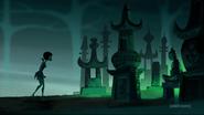 Ashi enter n cemetery