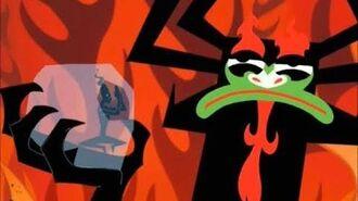 Samurai Jack Demongo Begs Aku For Forgiveness