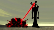 Aku killed Scothman