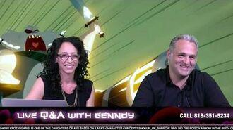 Q&A with Genndy Tartakovsky Samurai Jack Adult Swim