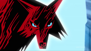 Wolf in blood