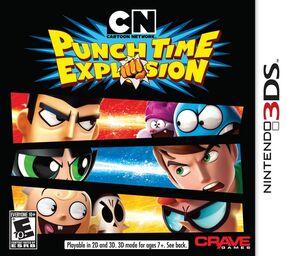 Cartoon Network Explosión de Puñetazos