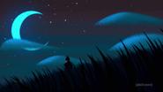 Ashi in the moon