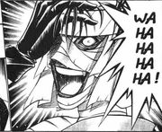 Shishio laugh
