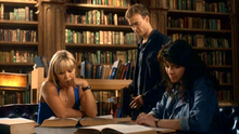 1x04 - Ashley, Will, and Magnus in the Library