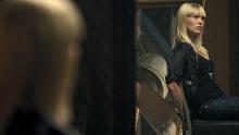 1x07 Ashley handcuffed to a metal chair