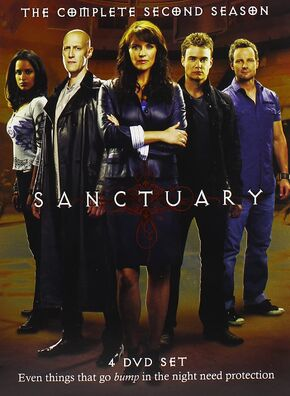 Sanctuary 2 DVD Cover Art