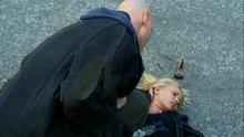 1x07 - Druitt teleports an unconscious Ashley away